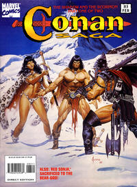 Cover Thumbnail for Conan Saga (Marvel, 1987 series) #83