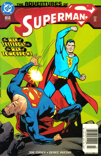 Cover for Adventures of Superman (1987 series) #612