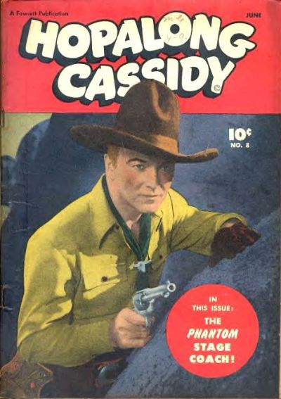 Cover for Hopalong Cassidy (Fawcett, 1946 series) #8