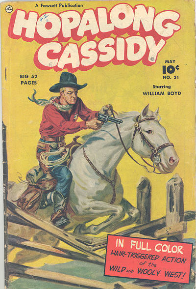 Cover for Hopalong Cassidy (Fawcett, 1946 series) #31