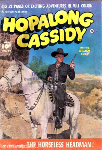 Cover for Hopalong Cassidy (Fawcett, 1946 series) #54