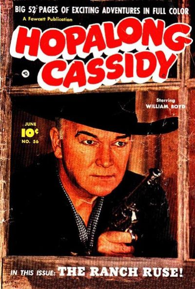 Cover for Hopalong Cassidy (1946 series) #56
