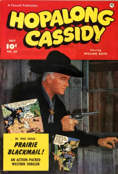 Cover for Hopalong Cassidy (Fawcett, 1946 series) #69
