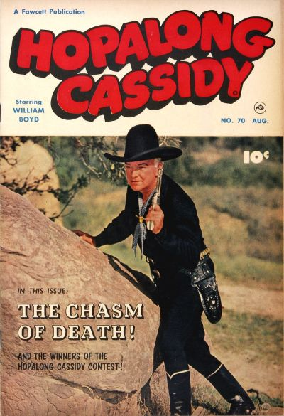 Cover for Hopalong Cassidy (Fawcett, 1946 series) #70