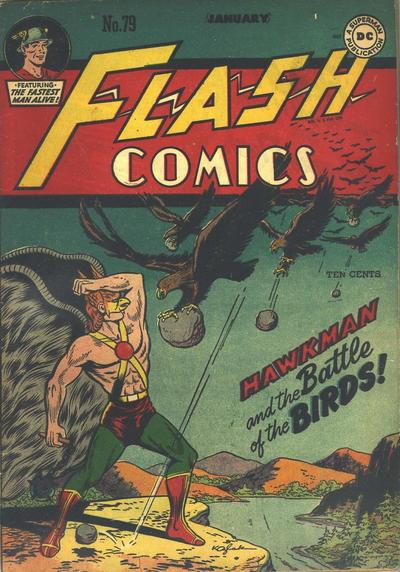Cover for Flash Comics (DC, 1940 series) #79