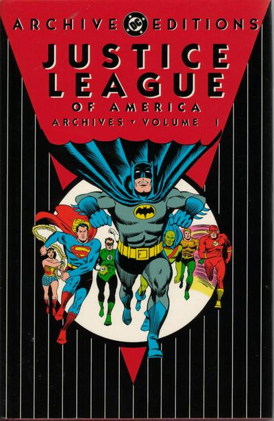 Cover for The Justice League of America Archives (1992 series) #1