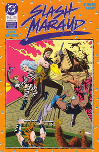 Cover for Slash Maraud (DC, 1987 series) #4