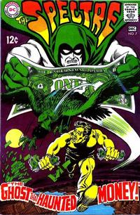 Cover Thumbnail for The Spectre (DC, 1967 series) #7