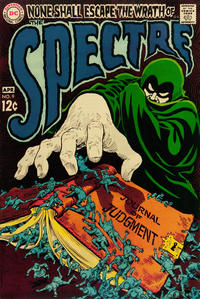 Cover Thumbnail for The Spectre (DC, 1967 series) #9