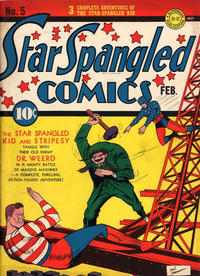 Cover Thumbnail for Star Spangled Comics (DC, 1941 series) #5