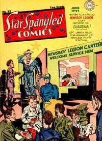 Cover Thumbnail for Star Spangled Comics (DC, 1941 series) #33
