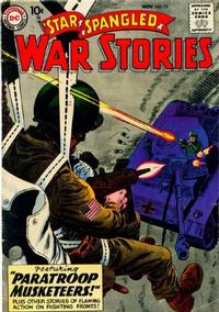 Cover Thumbnail for Star Spangled War Stories (DC, 1952 series) #75