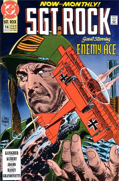 Cover for Sgt. Rock (DC, 1991 series) #14 [Direct Sales]