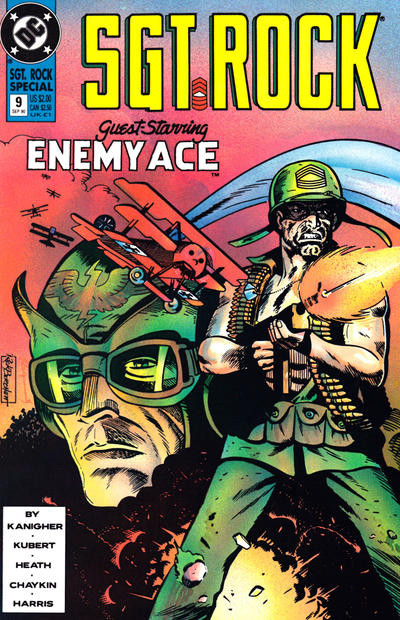 Cover for Sgt. Rock Special (DC, 1988 series) #9