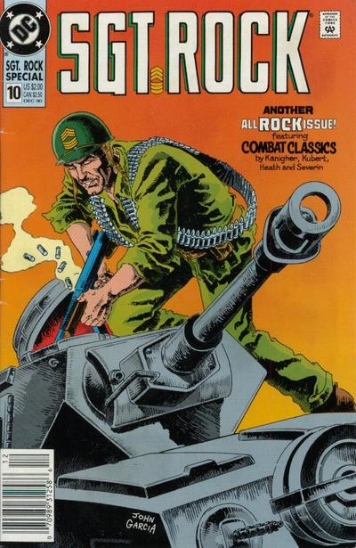 Cover for Sgt. Rock Special (DC, 1988 series) #10 [direct]