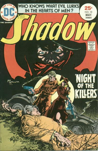 Cover for The Shadow (DC, 1973 series) #10