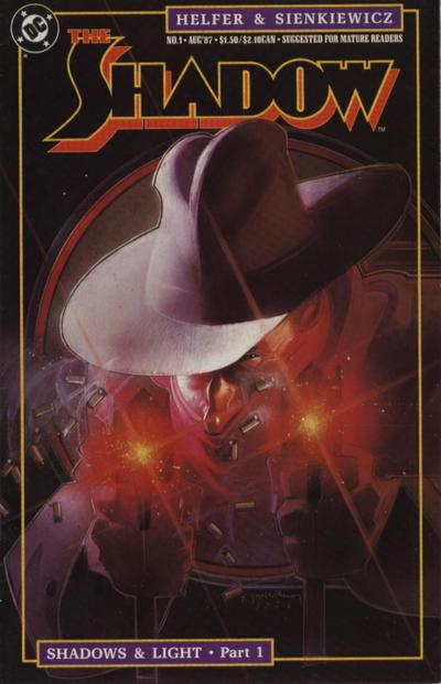 Cover for The Shadow (DC, 1987 series) #1