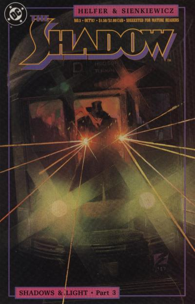 Cover for The Shadow (DC, 1987 series) #3