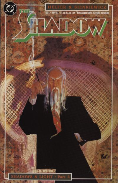 Cover for The Shadow (DC, 1987 series) #4
