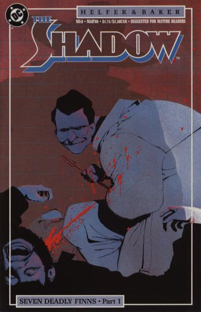 Cover for The Shadow (DC, 1987 series) #8