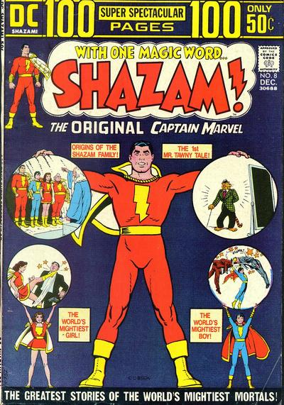 Cover for Shazam! (1973 series) #8
