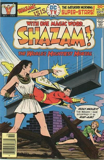 Cover for Shazam! (DC, 1973 series) #25