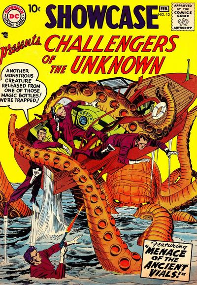 Cover for Showcase (DC, 1956 series) #12