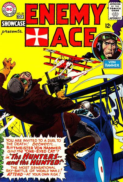 Cover for Showcase (DC, 1956 series) #58