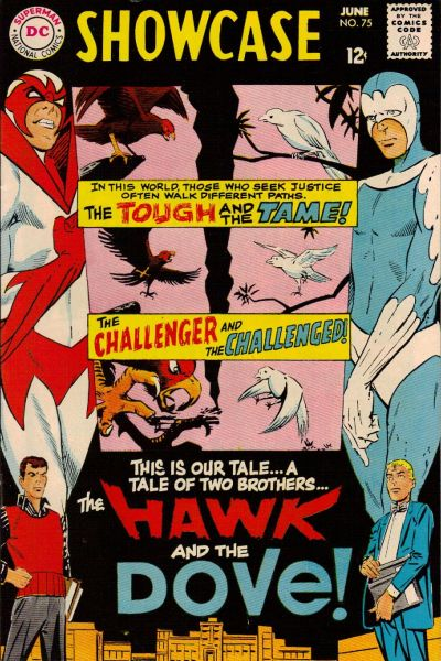 Cover for Showcase (DC, 1956 series) #75