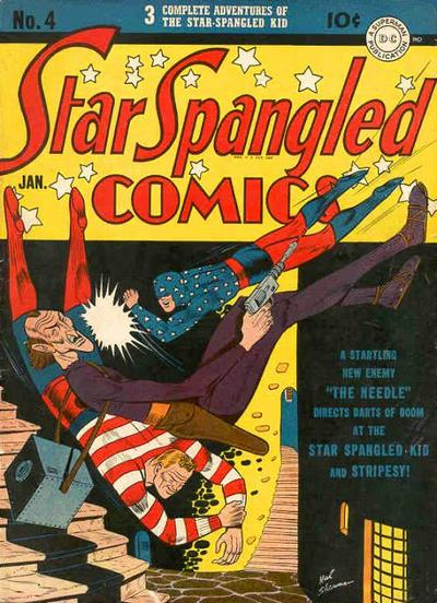 Cover for Star Spangled Comics (DC, 1941 series) #4