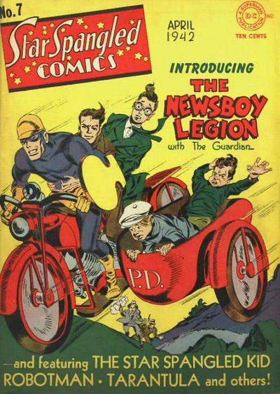 Cover for Star Spangled Comics (DC, 1941 series) #7