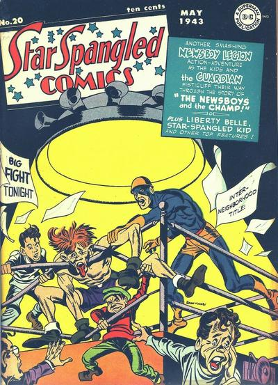 Cover for Star Spangled Comics (DC, 1941 series) #20