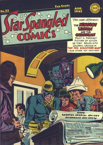Cover for Star Spangled Comics (1941 series) #23