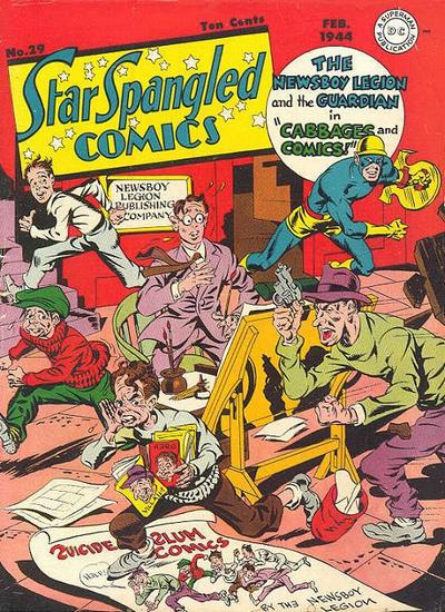 Cover for Star Spangled Comics (DC, 1941 series) #29