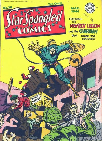 Cover for Star Spangled Comics (DC, 1941 series) #30