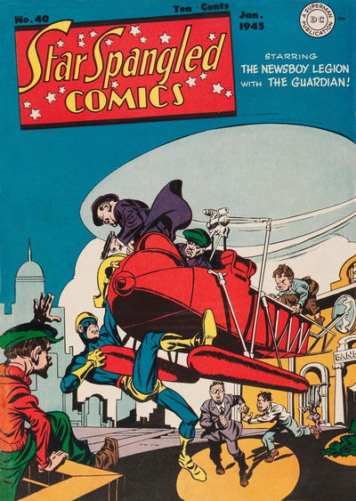 Cover for Star Spangled Comics (DC, 1941 series) #40