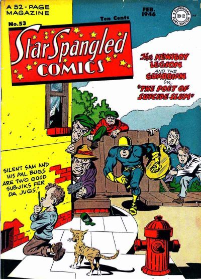 Cover for Star Spangled Comics (DC, 1941 series) #53