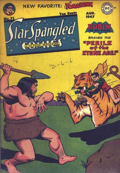 Cover for Star Spangled Comics (DC, 1941 series) #71