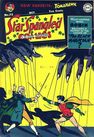 Cover for Star Spangled Comics (DC, 1941 series) #73