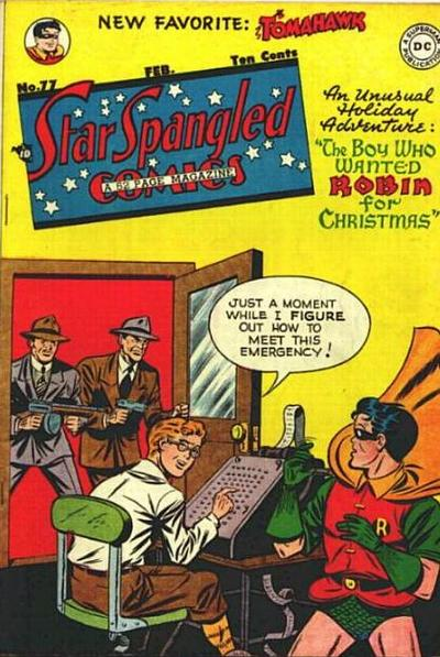 Cover for Star Spangled Comics (DC, 1941 series) #77