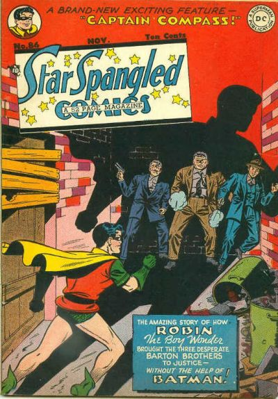 Cover for Star Spangled Comics (DC, 1941 series) #86
