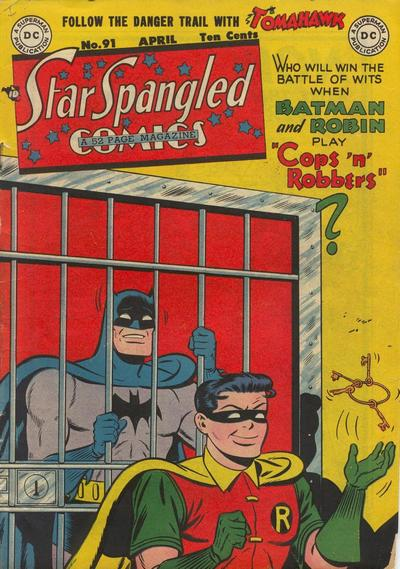 Cover for Star Spangled Comics (DC, 1941 series) #91