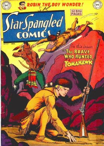 Cover for Star Spangled Comics (DC, 1941 series) #107