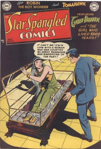 Cover for Star Spangled Comics (DC, 1941 series) #128