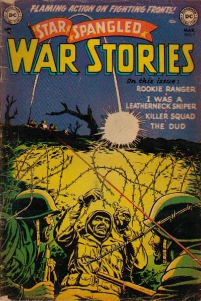 Cover for Star Spangled War Stories (DC, 1952 series) #7