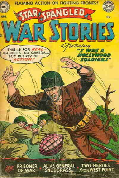 Cover for Star Spangled War Stories (DC, 1952 series) #8