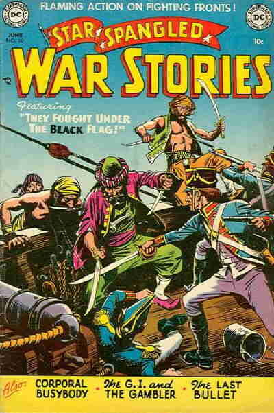 Cover for Star Spangled War Stories (1952 series) #10