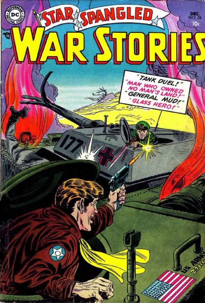 Cover for Star Spangled War Stories (DC, 1952 series) #28