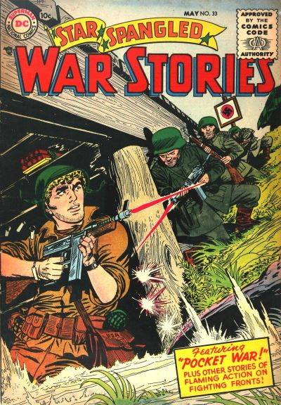 Cover for Star Spangled War Stories (1952 series) #33