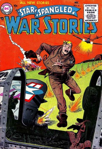 Cover for Star Spangled War Stories (1952 series) #39